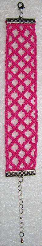 Macramé : bracelet celtique 13 monté