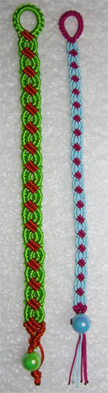 Macramé : bracelet 29