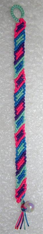 Macramé : bracelet 31