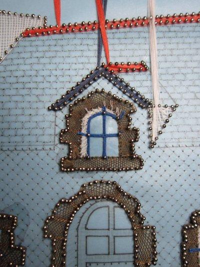 Dentelle : ma petite maison bretonne (suite 1)