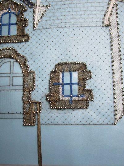 Dentelle : ma petite maison bretonne (suite 2)