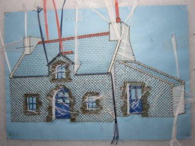 Dentelle : ma petite maison bretonne (suite 6)