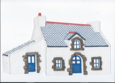 Dentelle : ma petite maison bretonne (suite 7)