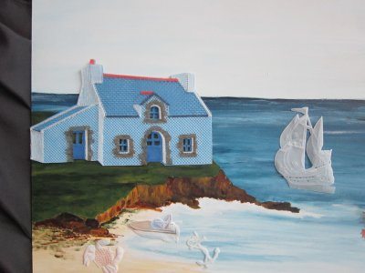 Dentelle : ma petite maison bretonne (fin)