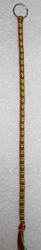 Kumihimo : bracelet Hira kara (12) 1