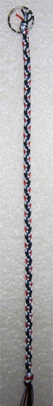 Kumihimo : bracelet Hira kara (8)