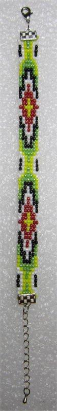Perles : premier bracelet tissé