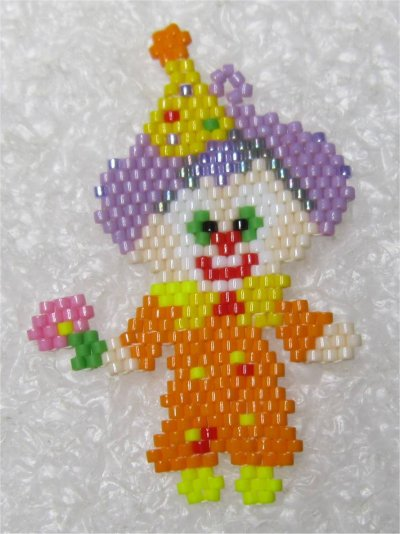 Perles : le clown
