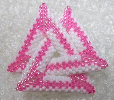 Perles : pendentif noeud celtique 1