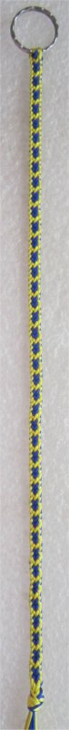 Kumihimo : bracelet Hira kara (12) 2