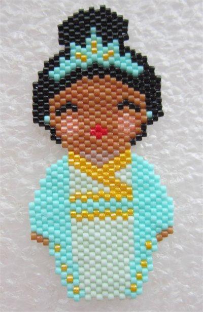 Perles : kokeshi Tiana