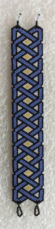 Perles : bracelet celtique 1 (fin)