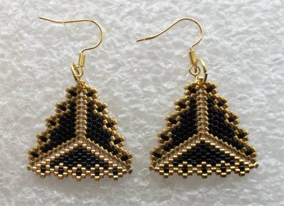 Perles : boucles d'oreilles 12