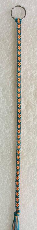 Kumihimo : bracelet Hira kara (12) 3
