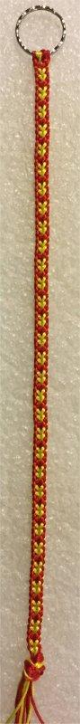 Kumihimo : bracelet Hira kara (12) 4