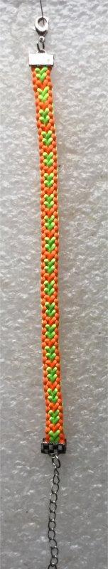 Kumihimo : 1 bracelet monté