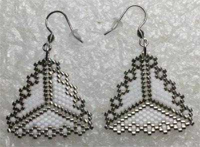 Perles : boucles d'oreilles 18