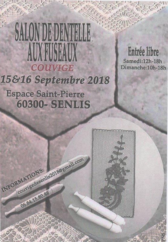 Couvige à Senlis (60300)les 15 & 16 septembre 2018