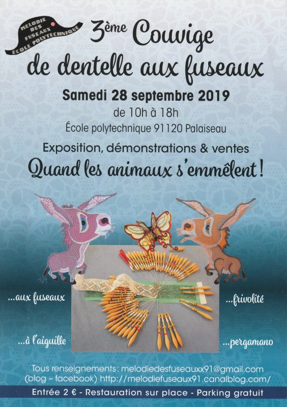 Couvige à Palaiseau (91120) le 28 septembre 2019