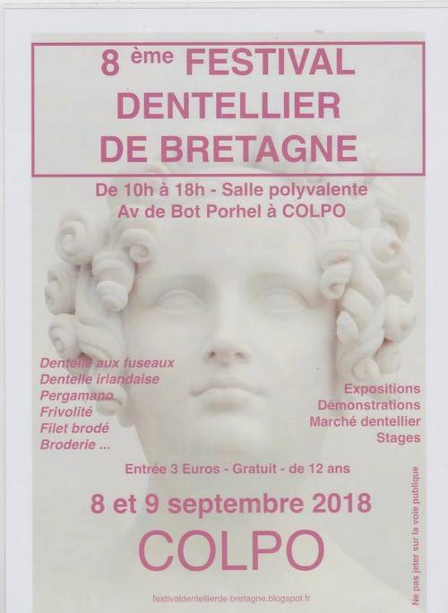 Dentelle : Festival dentellier de Bretagne