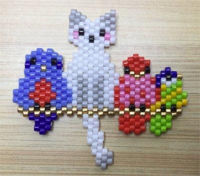 Perles : coloriage magique de Milipuce