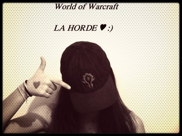 World of Warcraft! Geekette :p