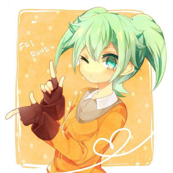 ♦ Fey Rune alias le Lapin Vert ♦