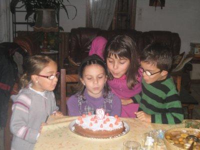 Les 9 ans de Juju