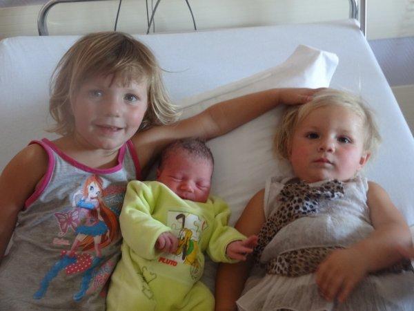 mes trois fille que jaime de tous mon coeur