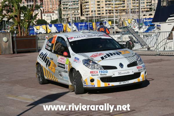 Rallye du Monté Carlo victoire en deux roure motrice Mr Pirre Campana