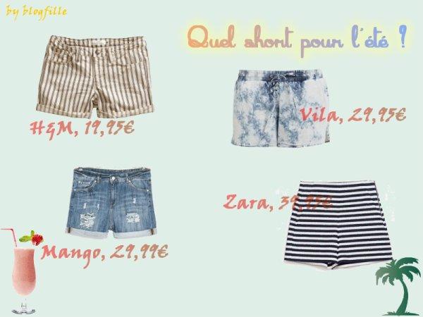 ► Des shorts pour l'été ◄