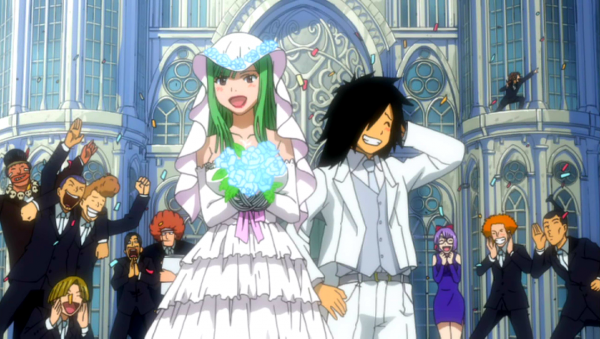 Les couples de Fairy Tail  *^*