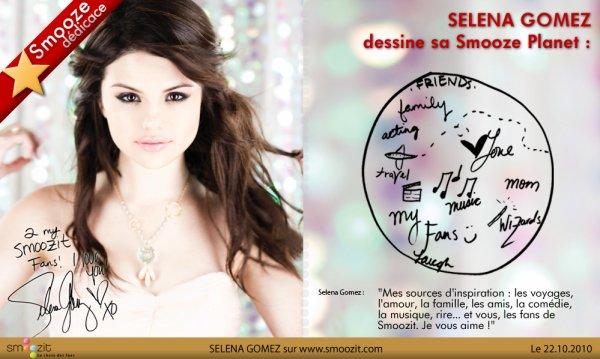 Smooze décidasse de Selena Gomez!