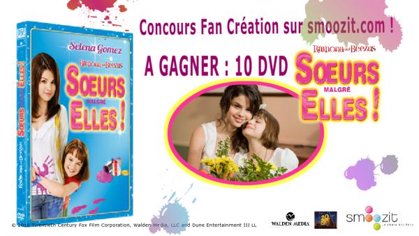 Concours Selena Gomez: Des DVD Soeurs malgré Elles à gagner !