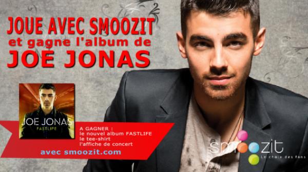 Concours Joe Jonas  - A gagner : le 1er album solo de Joe Jonas !