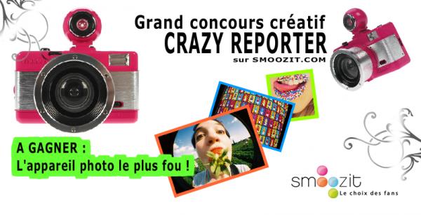 Grand concours créatif Crazy Reporter !