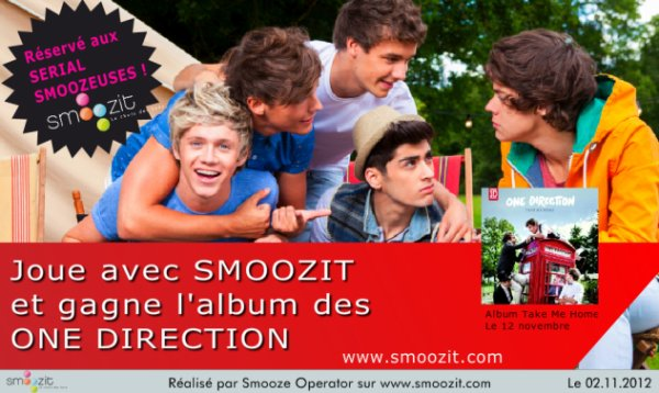 Concours One Direction : des albums « Take Me Home » à gagner !