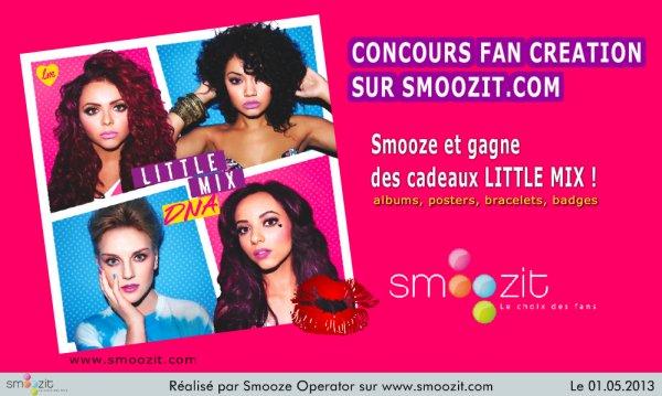 Des cadeaux VIP Little Mix à gagner !