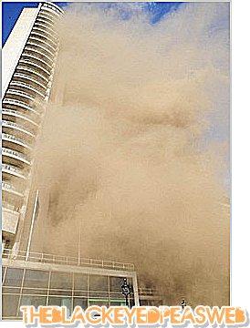 2 Juillet 2011 : Will.i.am échappe au feu d'un hôtel de Londres