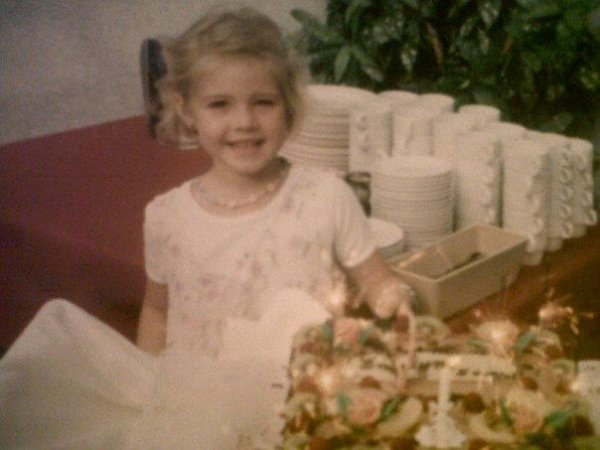 When I was a little girl :)