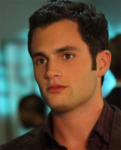 Penn Badgley alias Dan Humphrey