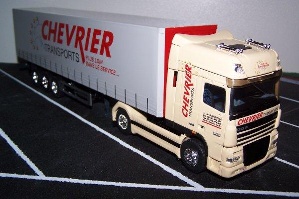 CHEVRIER - DAF XF105-460 Super Space Cab 4x2 Tautliner - réf.??? ??? - ELIGOR