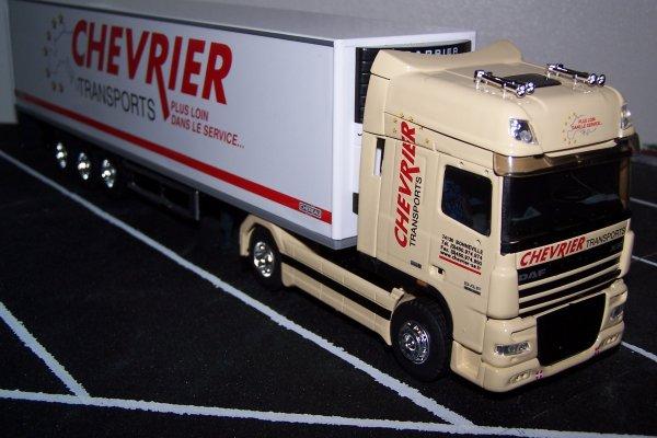 CHEVRIER - DAF XF105-460 Super Space Cab 4x2 Chereau - réf.113 746 - ELIGOR