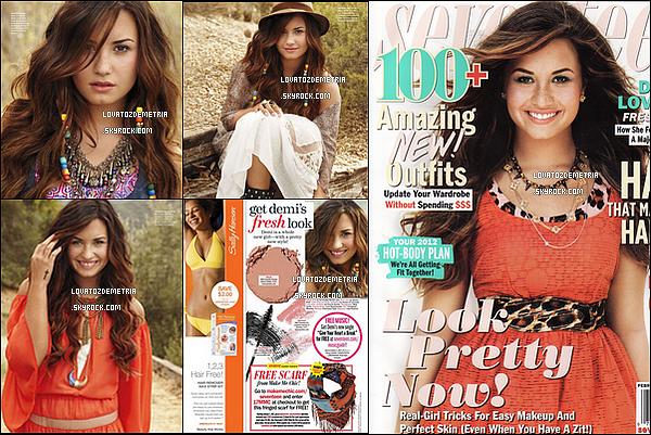 * Re-Découvre demi naturelle dans le magnifique shoot du magazine Seventeen. *