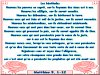 Texte biblique - Les Béatitudes
