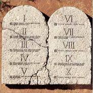Texte biblique - Les commandements de Dieu