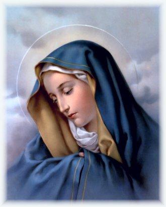 Le soldat protestant et l'Icône de Marie