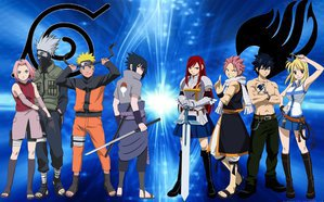 naruto vs fairy tail