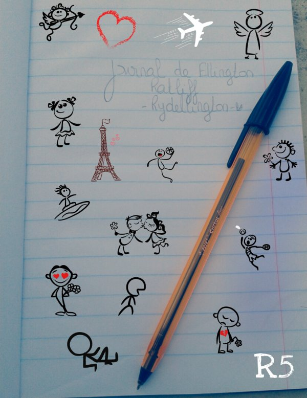 Journal de Ellington Ratliff - Rydellington - ♥ (Fiction)