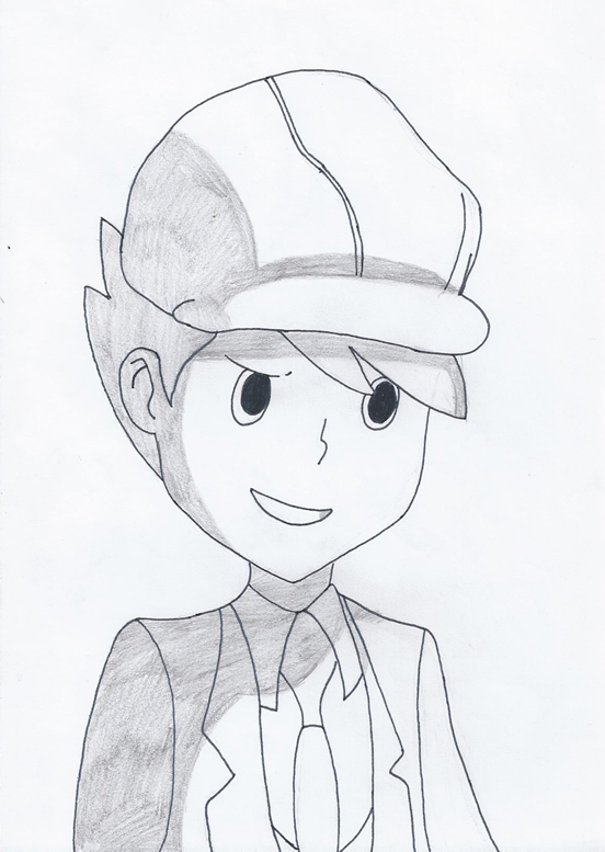 Clive Dove - Luke du Future (Professeur Layton)